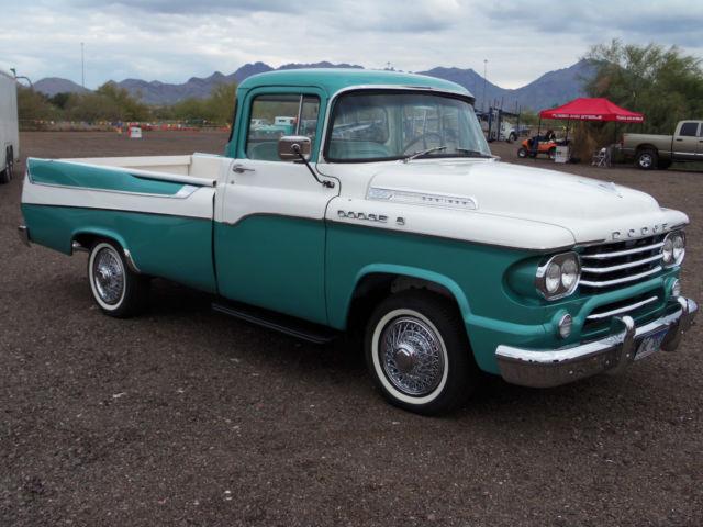 1958 Dodge Sweptside Pickup 325 Poly V 8 Engine Amp Torque
