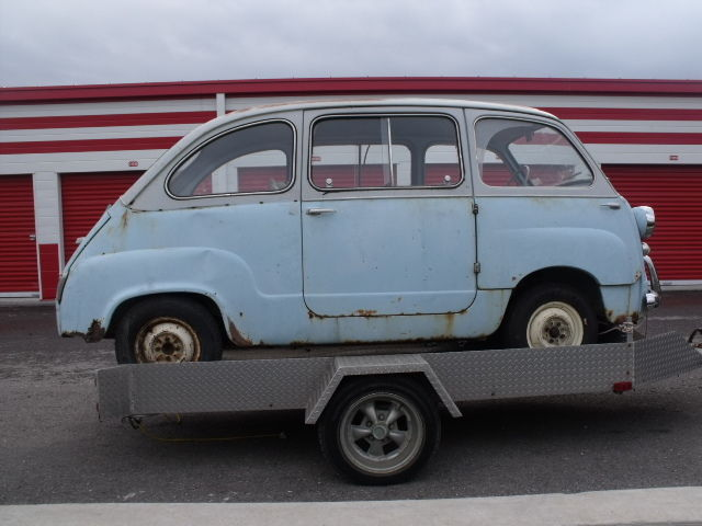 1958 fiat 600 multipla microcar price lowered to sell for sale in markham ontario canada. Black Bedroom Furniture Sets. Home Design Ideas