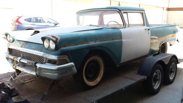 1958 Ford Ranchero Project 5 0 Fi Engine Aod Transmission 9 U0026quot  Rear End For Sale In Port Hueneme