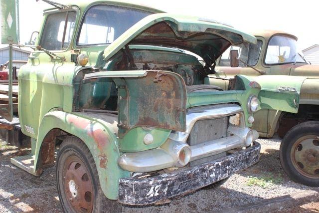 1958 gmc 450 series snubnose truck for sale in portland oregon united states. Black Bedroom Furniture Sets. Home Design Ideas