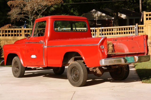 United Bmw Roswell >> 1958 International Harvester A100 Pick-Up for sale: photos, technical specifications, description