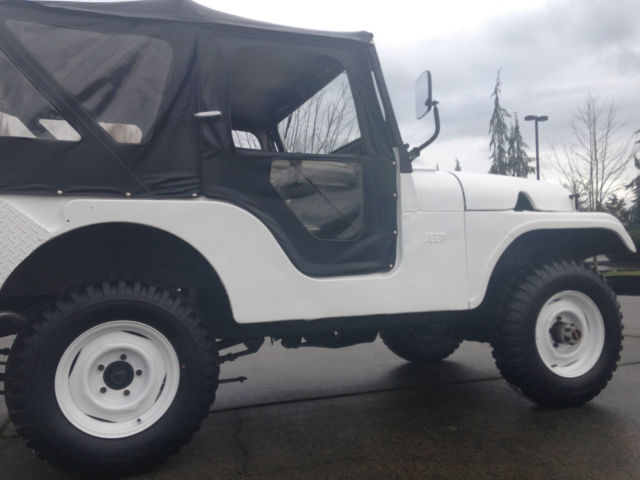 Jeep Willys For Sale >> 1958 jeep willys cj-5, f head, L-134 for sale in Arlington, Washington, United States for sale ...