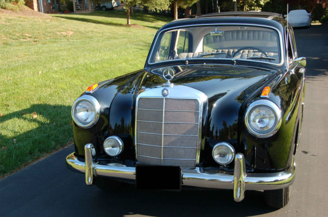 1958 mercedes benz 220s ponton with webasto roof for Mercedes benz lynchburg va