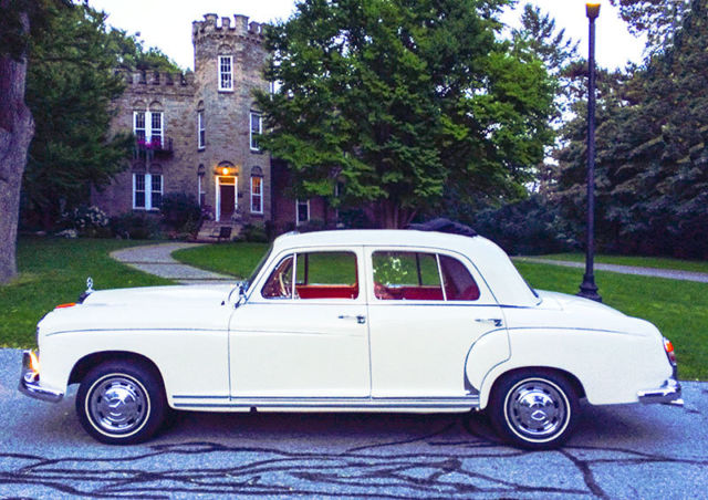 1958 mercedes benz 220s w180 ii for Mercedes benz henrietta ny