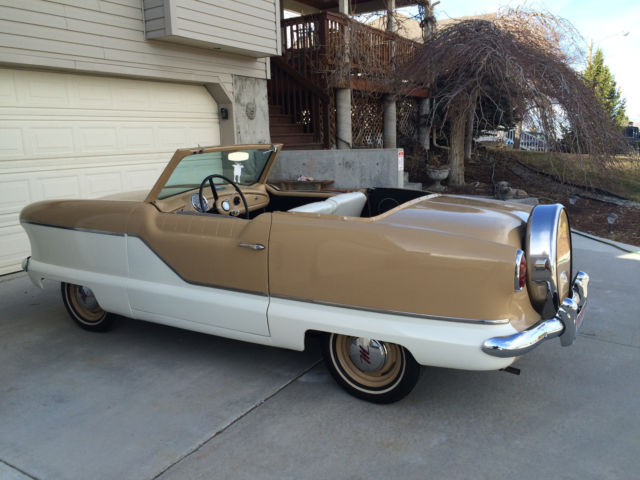 1958 nash metropolitan convertible in ebay motors for Ebay motors classic cars for sale by owner