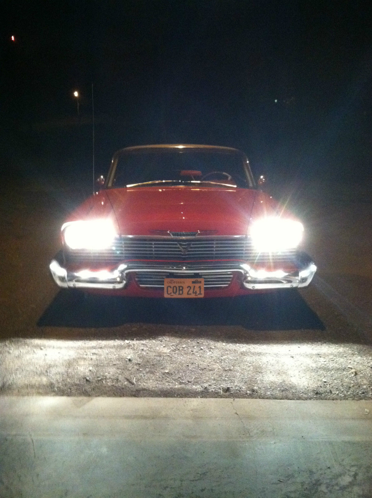 Southern Auto Parts >> 1958 Plymouth Belvedere Hardtop Christine Movie Clone Car ...