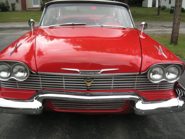 1958 Plymouth Fury Quot Christine Quot For Sale In Concord New
