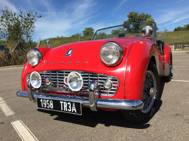 1958 Triumph Tr3a Project Car For Sale: 1958 Triumph TR3A, With Overdrive And TR3B 2.2 Liter
