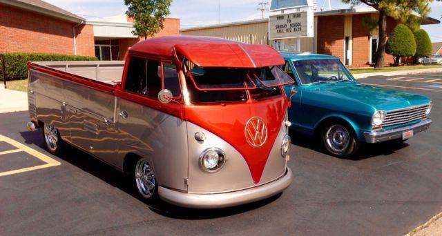 1958 Volkswagen Vw Custom Pickup Truck Type Ii Single Cab