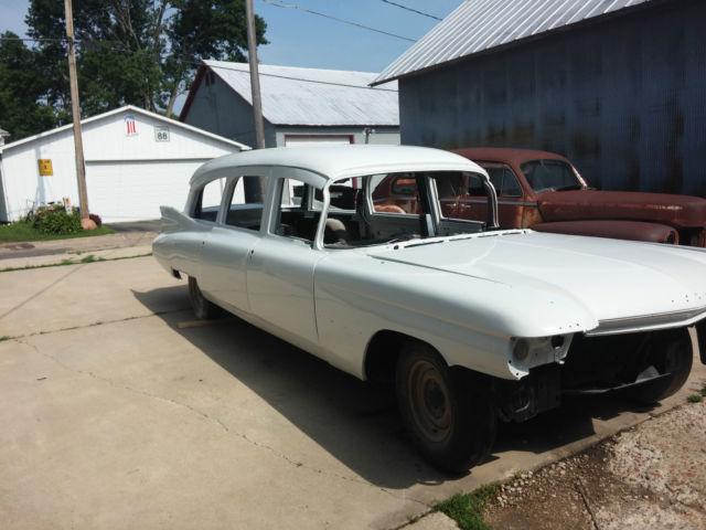 1959 Cadillac Eureka Ambulance / Hearse for sale in ...