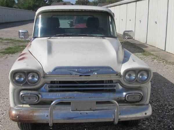 1959 Chevrolet Apache 32 Fleetside Pickup Truck For Sale In Church