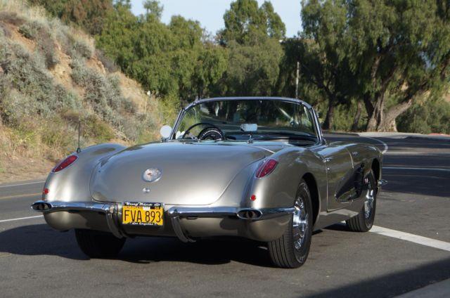 Used Corvettes For Sale >> 1959 Chevrolet Corvette - Fuel Injection - 283 V8 / Manual ...
