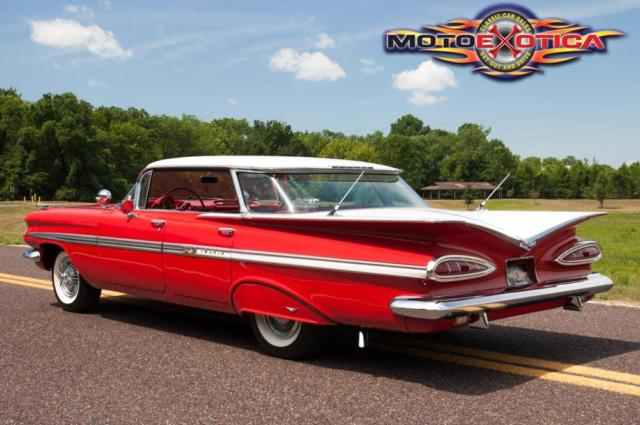 1959 Chevrolet Impala Hardtop Sports Sedan Flattop No