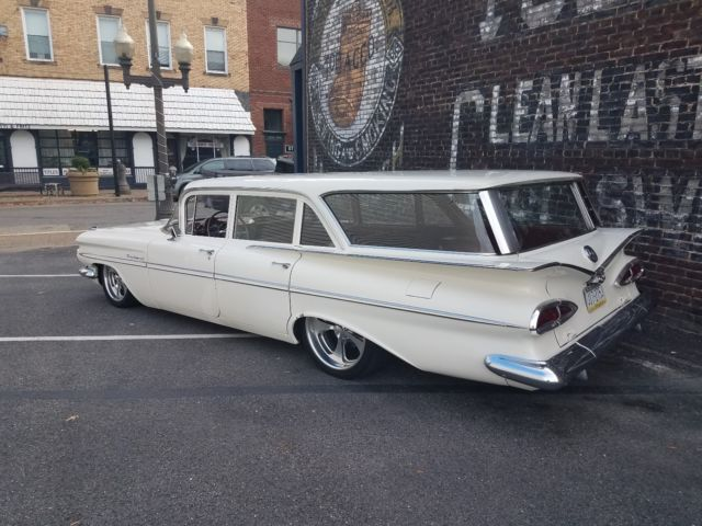 1959 Chevrolet Parkwood Station Wagon Impala Belair Bagged
