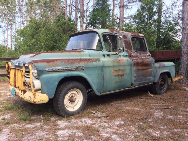 1959 Chevy Apache Crew Cab 3 Door Extremely Rare