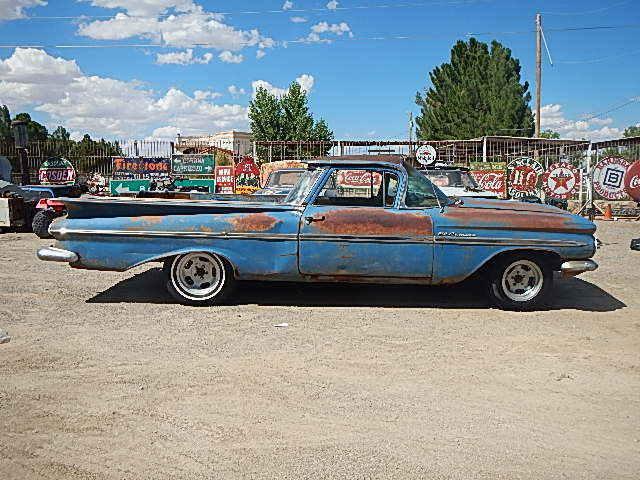 BARN FIND PROJECT CAR HOT RAT ROD IMPALA 1959 Chevrolet El Camino EL CAMINO