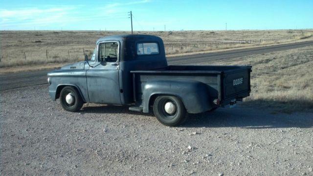 1959 Dodge D100, Rat Rod, Shop Truck