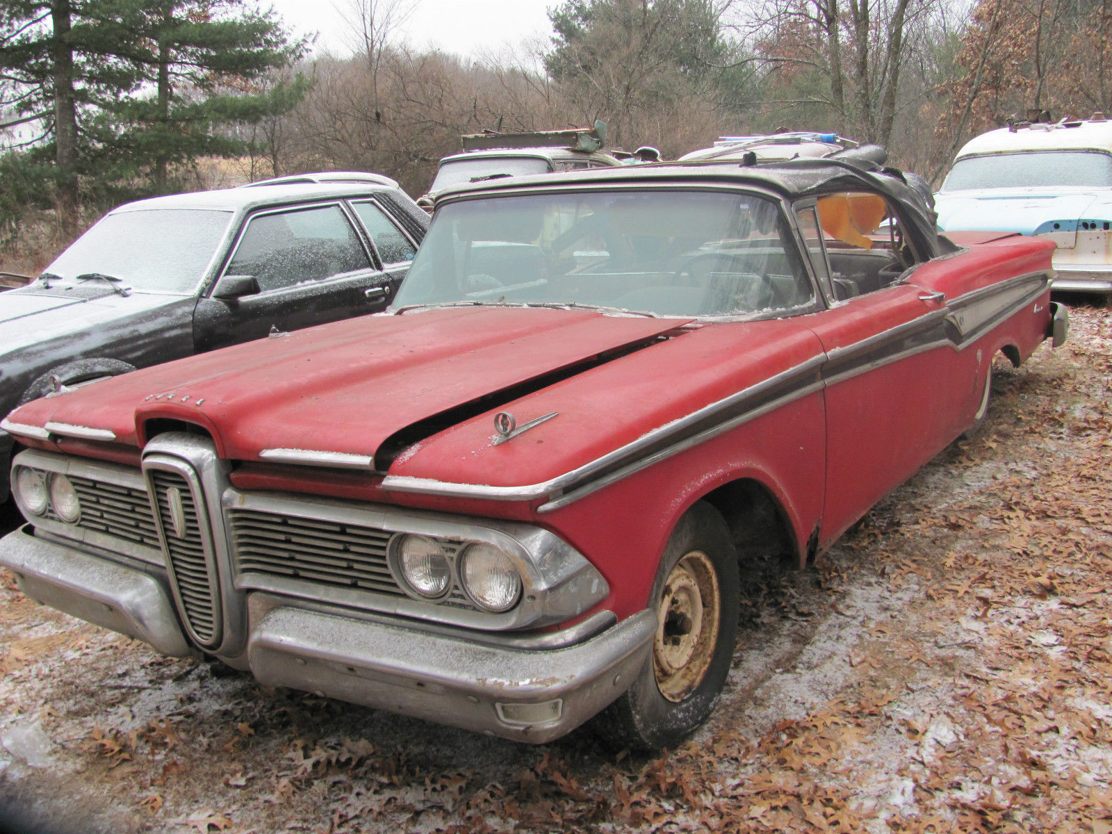 Edsel Ford 1959 Frugal Ranger An Entry Level Wiring Diagram Free