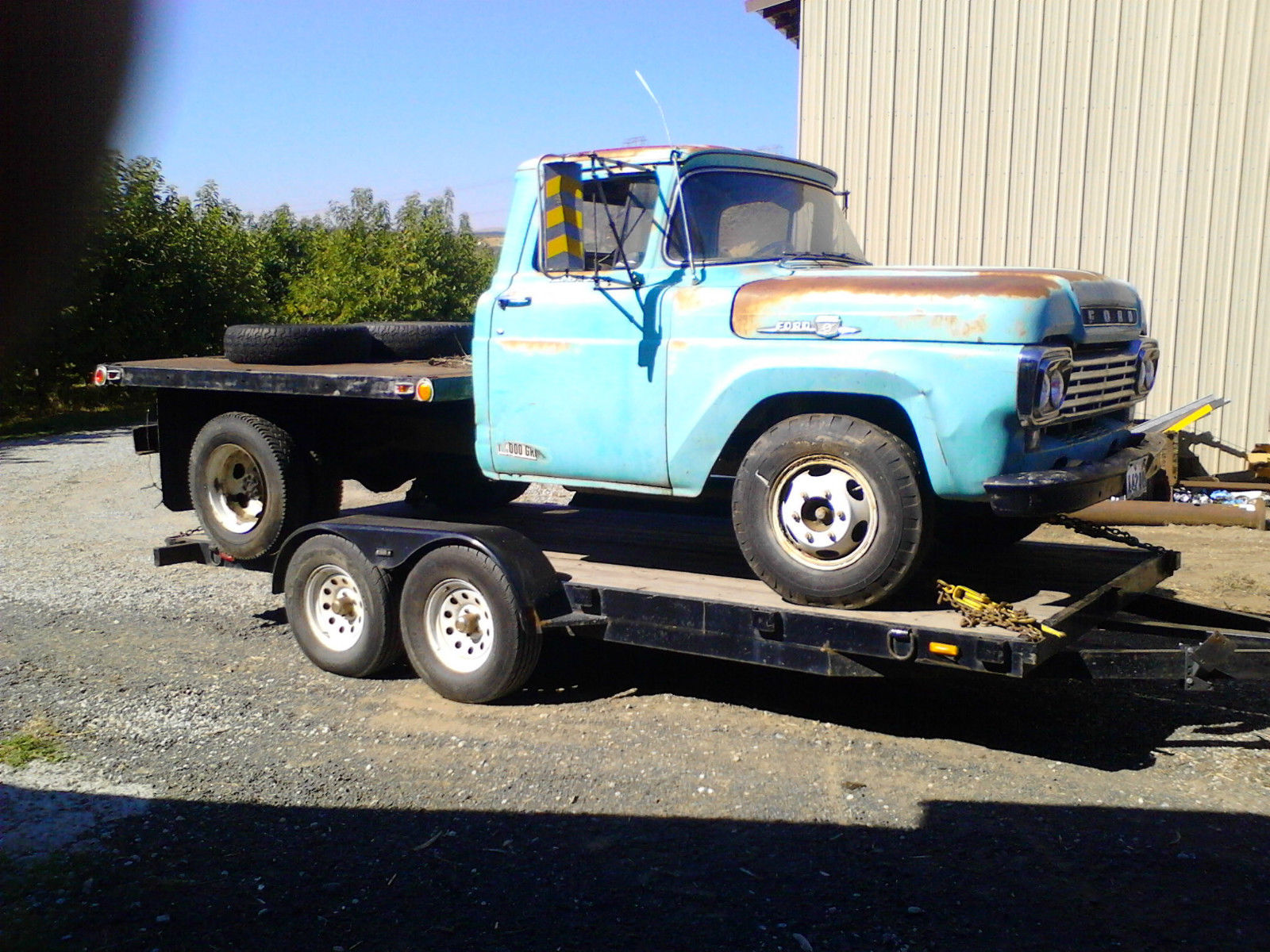 1959 Ford F350 Shorty Flatbed For Sale In East Wenatchee Washington United States For Sale Photos Technical Specifications Description