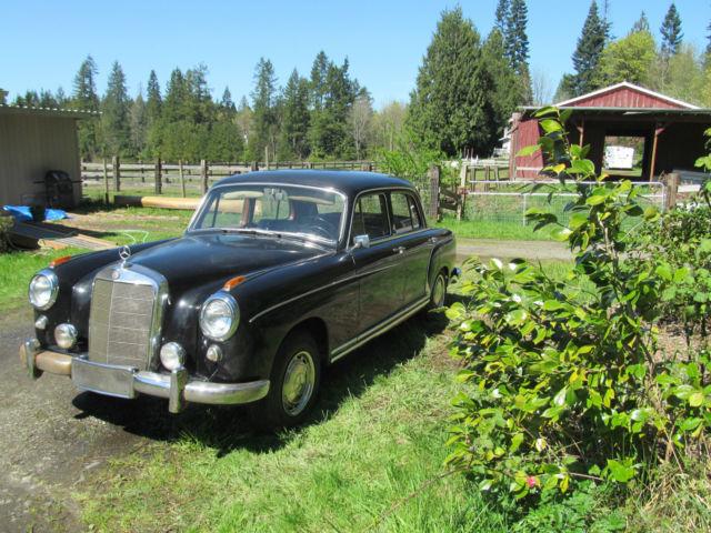 1959 mercedes benz 220 series 220s ponton 4 door sedan for 1953 mercedes benz 220 sedan for sale