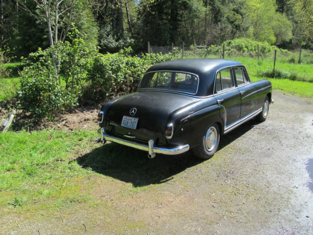 1959 mercedes benz 220 series 220s ponton 4 door sedan. Black Bedroom Furniture Sets. Home Design Ideas