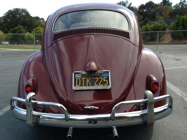 1959 red vw bug for sale original owner for sale in san. Black Bedroom Furniture Sets. Home Design Ideas