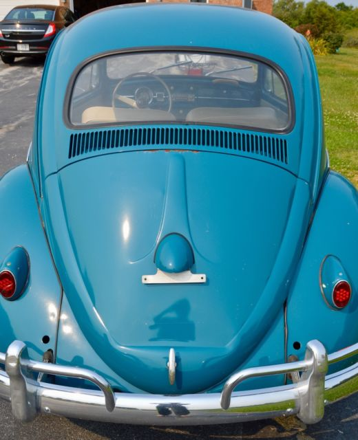 Classic Vw Beetle Engine Upgrades: 1959 VW Bug With Rebuilt 1960 VW Bug 1385 CC Engine (40 Hp