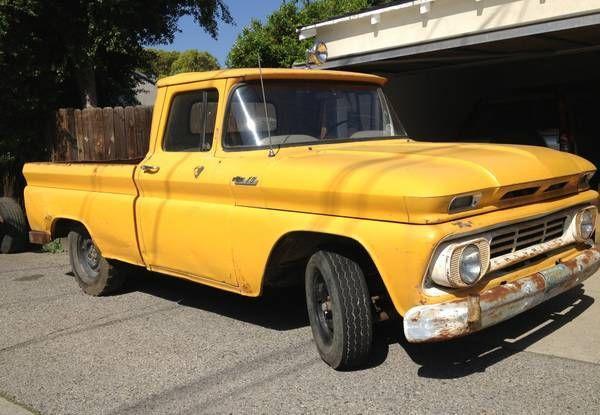 1960 1961 1962 1963 1964 1965 1966 chevrolet c10 pick up truck for sale in burbank. Black Bedroom Furniture Sets. Home Design Ideas