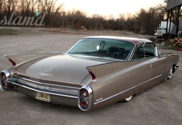 1960 Cadillac Coupe Deville Custom Air Ride