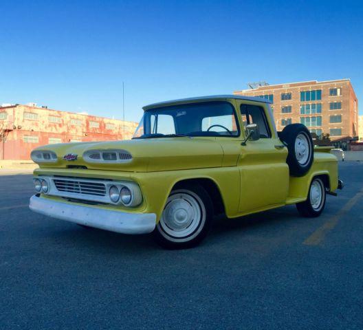 Gmc Tulsa: 1960 Chevrolet Apache C10 Short Bed Stepside