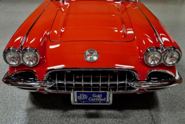 1960 CHEVROLET CORVETTE 283/290hp FUELIE All #'s Match Frame Off *AWARD WINNING!