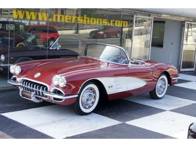 1960 chevrolet corvette 4 speed manual 2 door convertible for sale in springfield ohio united. Black Bedroom Furniture Sets. Home Design Ideas