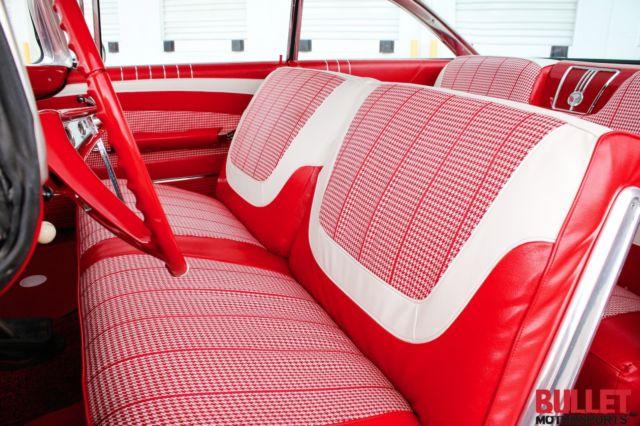 1960 chevrolet impala hardtop excellent black paint red interior restored. Black Bedroom Furniture Sets. Home Design Ideas