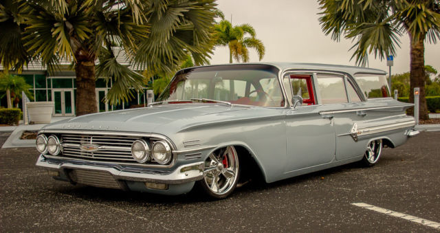 1960 Chevrolet Nomad Wagon Air Ride Street Rod Hot Rod