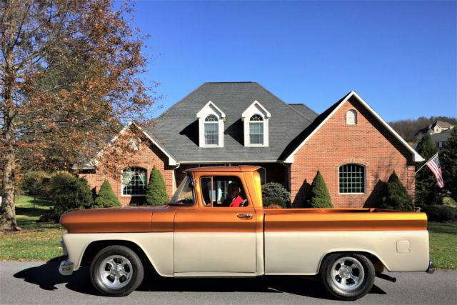 1960 Chevrolet Pickup Frame Off Custom Modified Street Rod