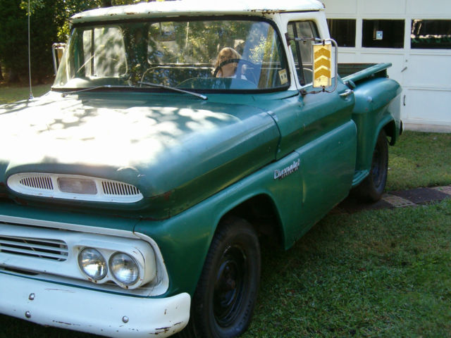 1960 chevy apache 10 step side pickup truck for sale in charlotte north carolina united states. Black Bedroom Furniture Sets. Home Design Ideas
