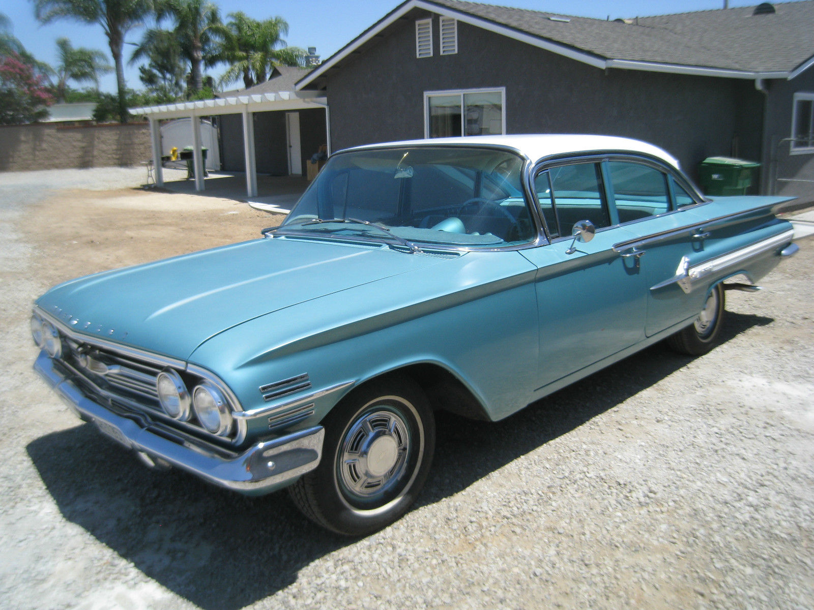 1960 chevy impala 4 door for sale in mira loma california united states. Black Bedroom Furniture Sets. Home Design Ideas