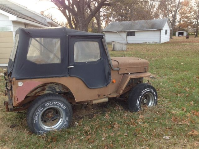 1960 cj3b jeep willys project for sale in arma kansas united states. Black Bedroom Furniture Sets. Home Design Ideas