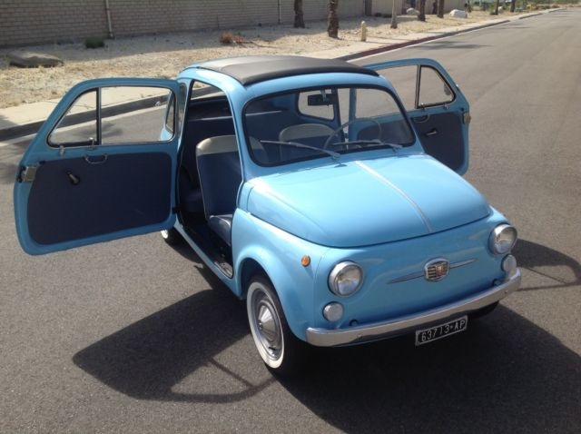 Fiat Of Palm Springs >> 1960 Fiat 500D - RAREST Model - 3 Owners from New- Restored, Vintage, Classic for sale: photos ...