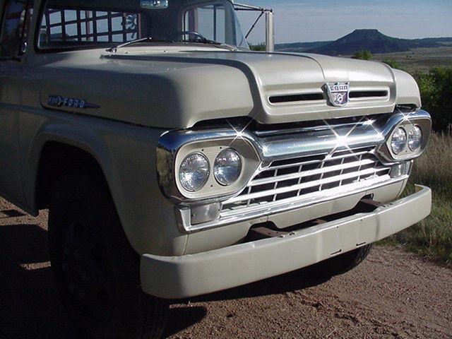 1960 ford f 600 farm truck for sale in sedalia colorado united states. Black Bedroom Furniture Sets. Home Design Ideas