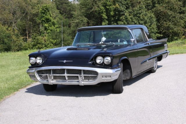 1960 Ford Thunderbirdst Of The Square Birds Black Mechanically
