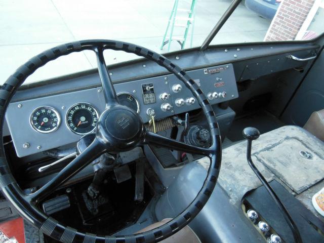 Used Fire Trucks For Sale >> 1960 International Harvester truck COE Cabover tilt-cab ...
