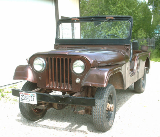 1960 jeep rare willys cj6 no reserve for sale in ashland wisconsin united states. Black Bedroom Furniture Sets. Home Design Ideas