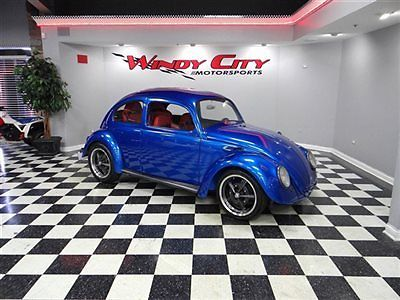 1960 Vw Bug Beetle Custom Doors 4 Racing Seats Stunning Paint Rust Free