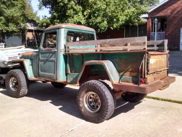 Willys Jeep Truck X Body And Frame Sit On Yukon K Front And Rear End on Used Gmc Rear End