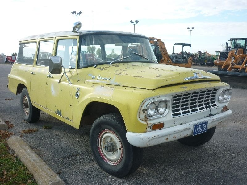 1961 3 4 Ton 4x4 Suburban Travelall 6 Cylinder For
