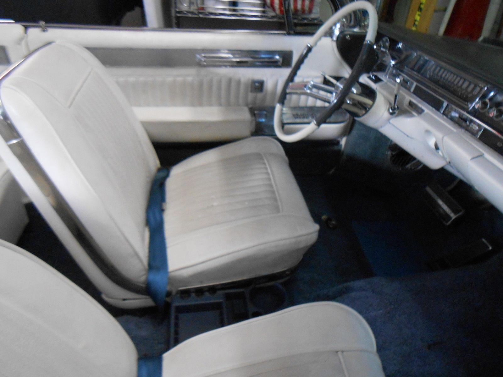 1961 Cadillac Eldo Biarritz Convertible Restoredrare Bucket Seats El Dorado Technical Specifications Of Eldorado