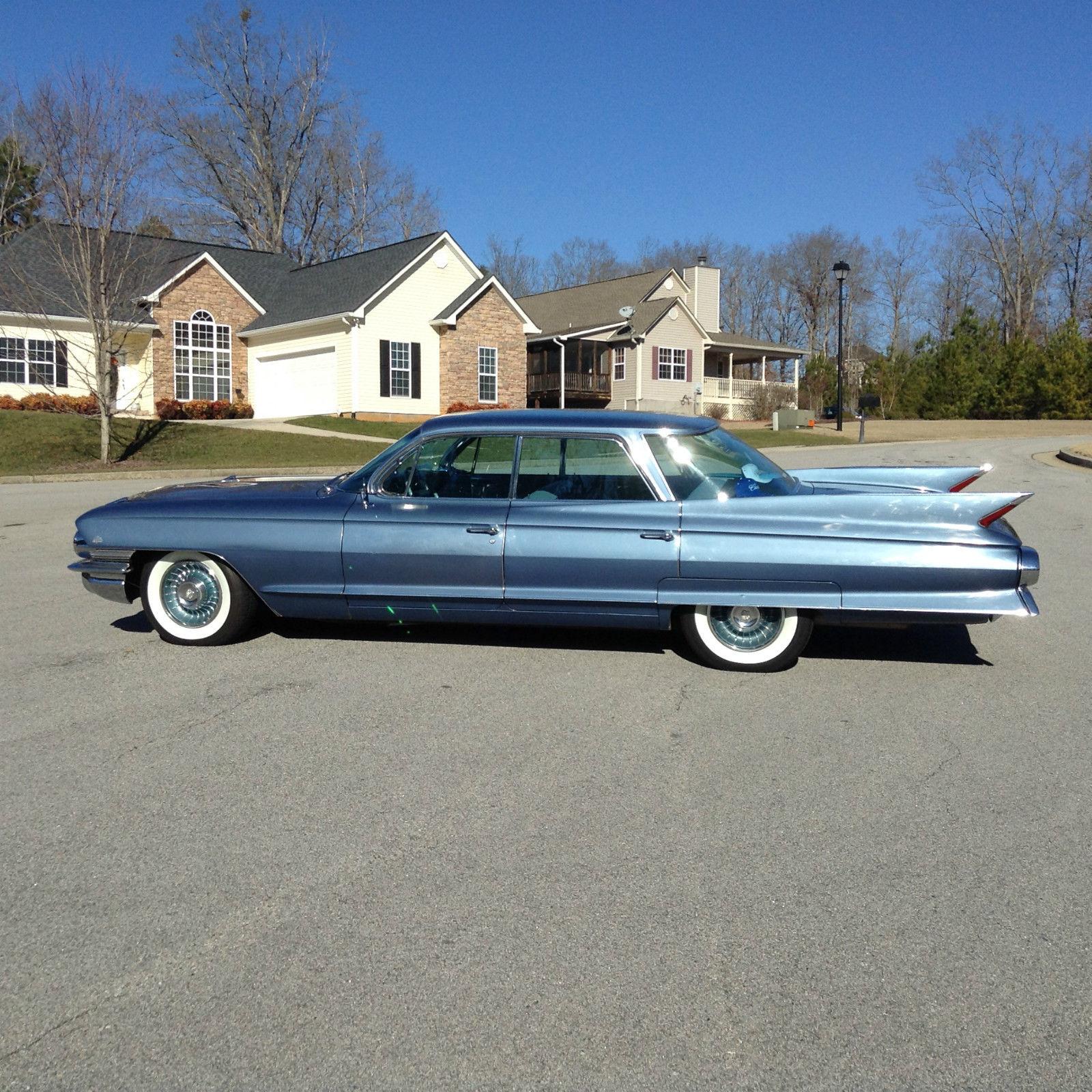 1961 Cadillac Sedan DeVille 4 Window For Sale In