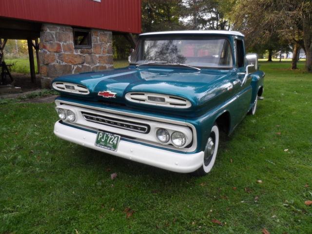 1961 chevrolet apache stepside truck 1961 chevrolet other pickups
