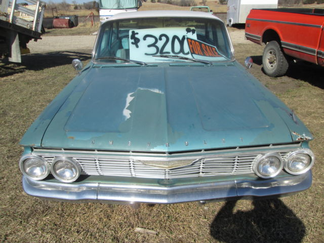 1961 Chevy Impala 4 Door Barn Find For Sale In Emmett